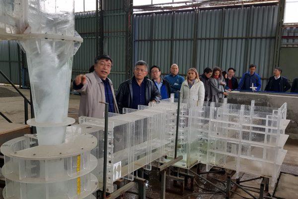 [Video] Científicos y acádemicos de China en Laboratorio de Hidráulica del INH