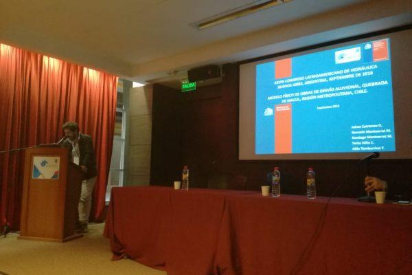 Relevante Presencia en XXVII Congreso Latinoamericano de Hidráulica del INH – 17 al 21 de Septiembre