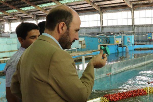 INH recibe al Subsecretario de Obras Públicas en su laboratorio en Peñaflor